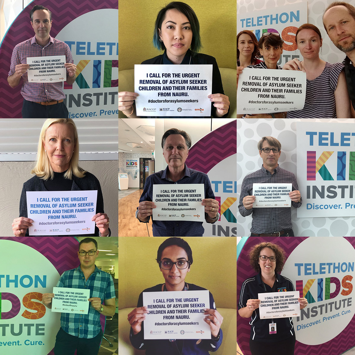 Telethon Kids calls for urgent removal of kids on Nauru