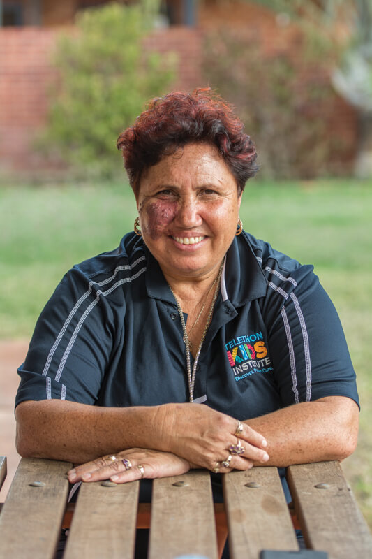 "Margaret ""Sissy"" Ramirez became a community researcher following her experiences with FASD"